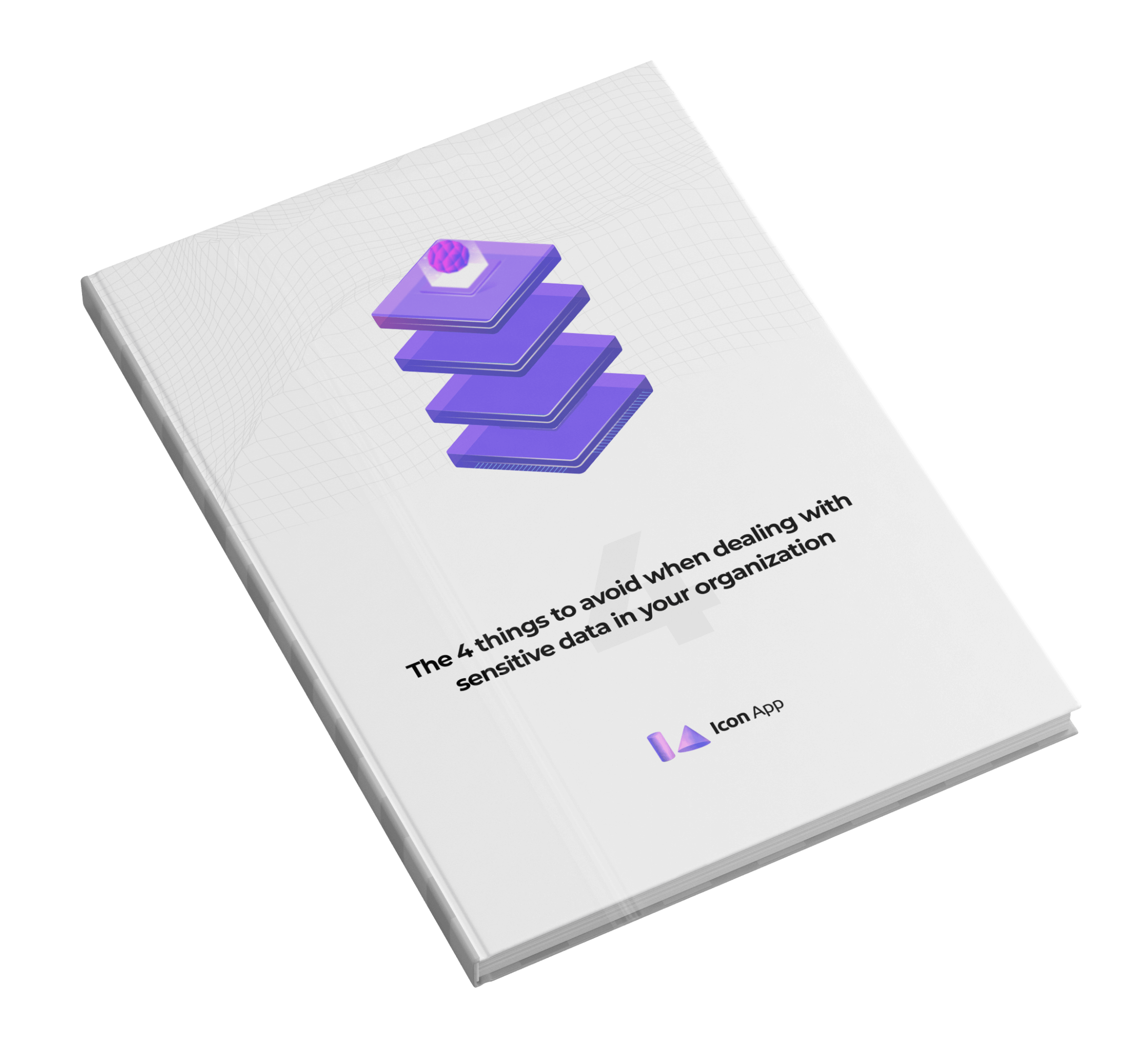 Icon App - Book 3D